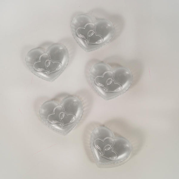 Heart-Shaped Favor Containers