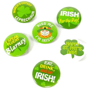 Mini St. Patrick's Day Buttons