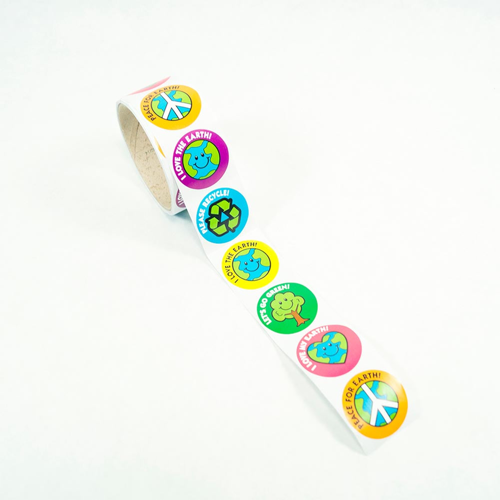 Earth Day Sticker Roll