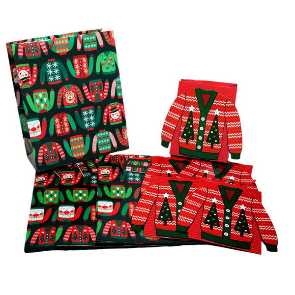 Medium Ugly Christmas Sweater Gift Bags