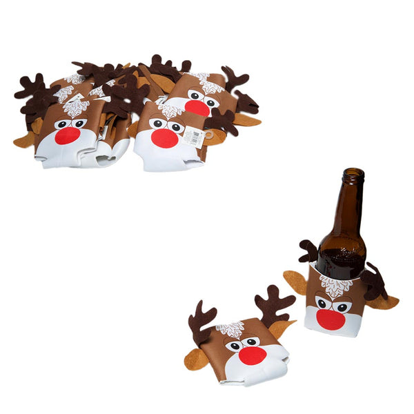 Rudolph Can/Bottle Covers