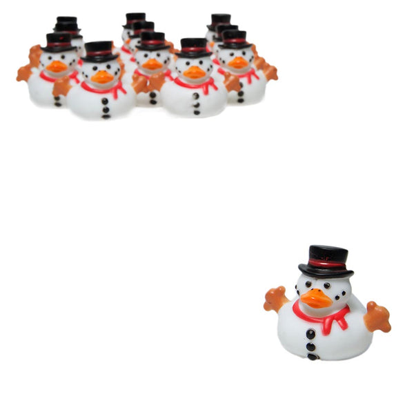Snowman Rubber Ducks