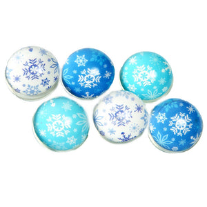 Snowflake Bouncy Balls