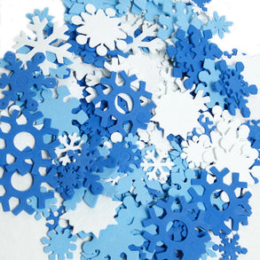 Foam Snowflake Set