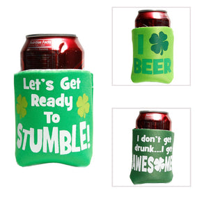 St. Patricks Day Can/Bottle Cover