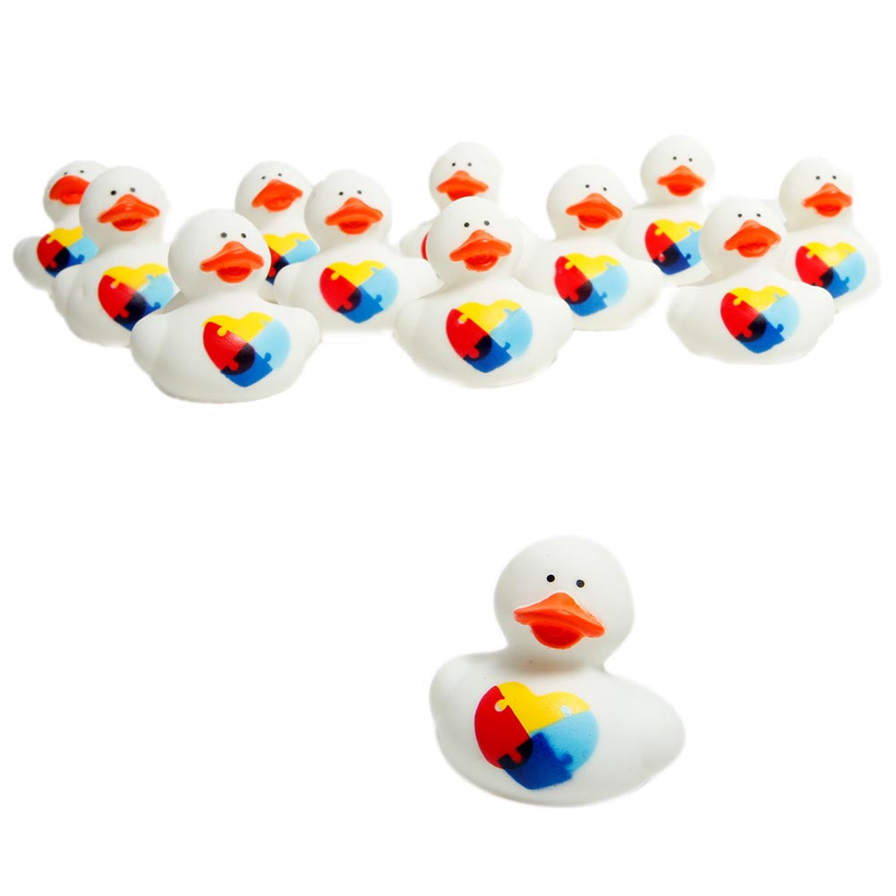 Autism Awareness Rubber Ducks