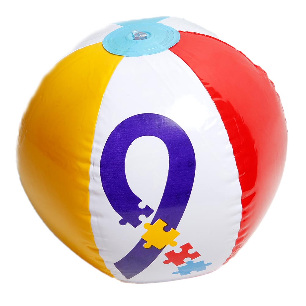Autism Awareness Beach Ball