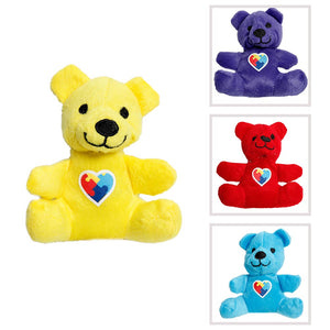 Autism Awareness Plush Bear