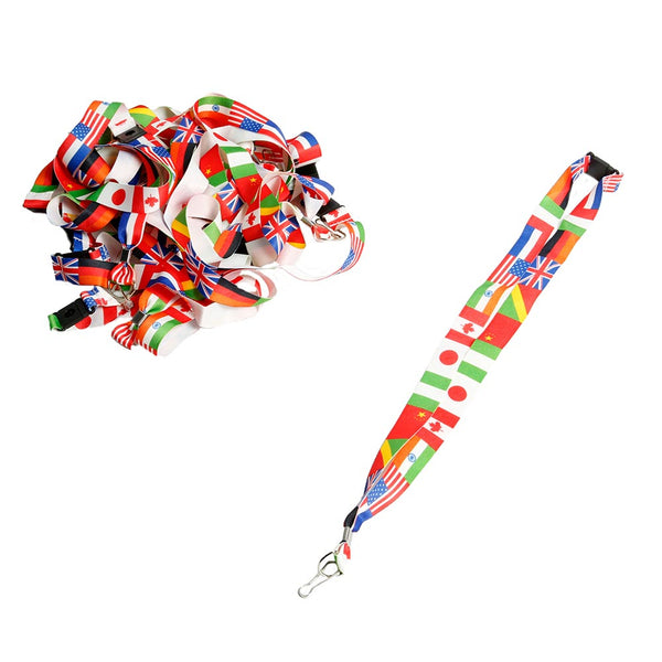 International Flag Lanyards