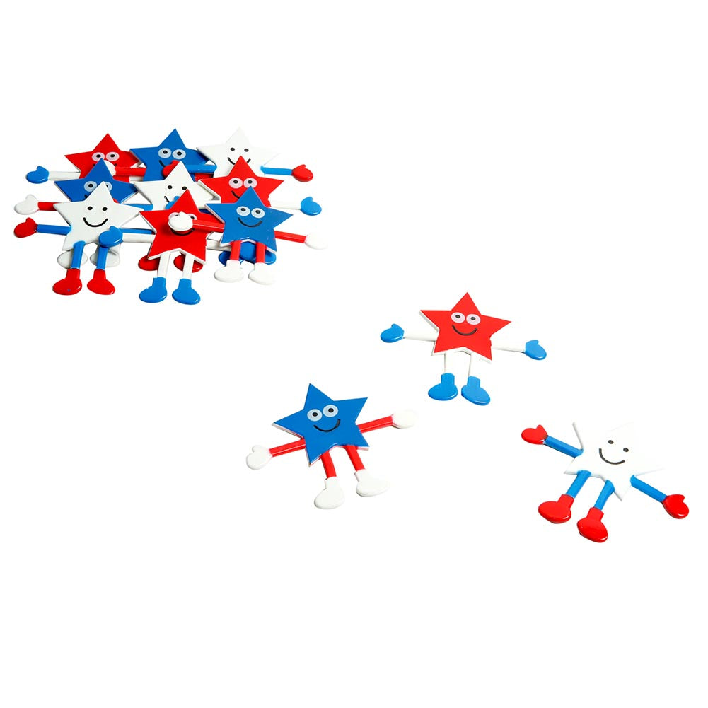 Patriotic Star Bendables