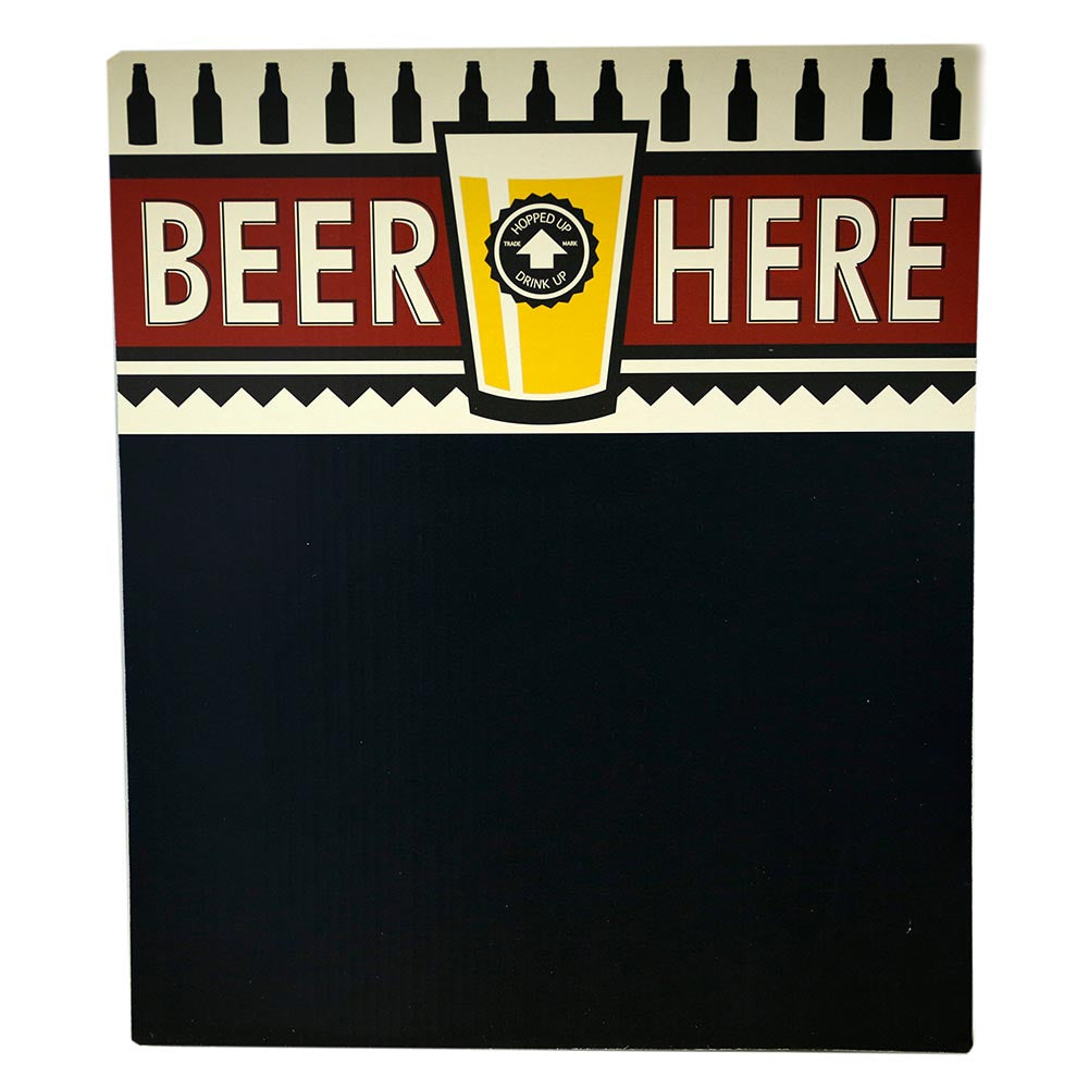 Chalkboard Beer Sign