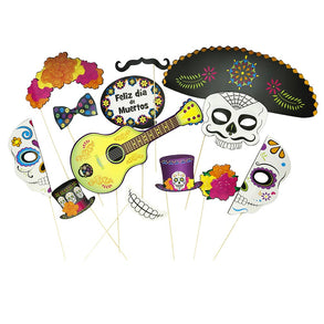 Day of the Dead Handheld Costume Props