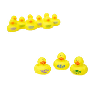 "Mini ""He Lives"" Rubber Ducks"