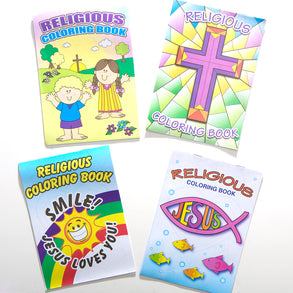"7"" Religious Coloring Book"