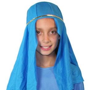 Child Light Blue Nativity Hat