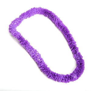 Purple Poly Lei