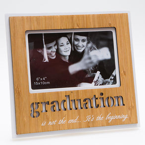 Wood Graduation Picture Frame