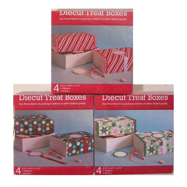 Holiday Diecut Cookie Boxes