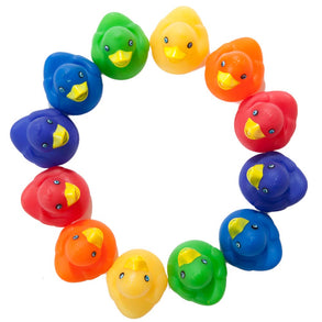 Assorted Color Rubber Ducks