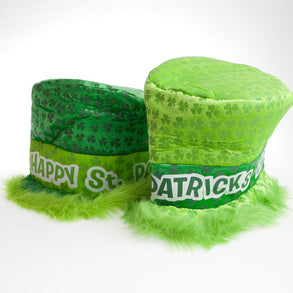 Deluxe Shamrock Top Hat