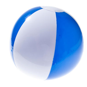 Blue and White Beach Balls