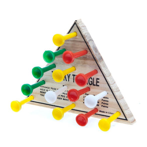 Wooden Tricky Triangle Game