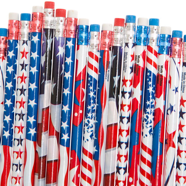 Patriotic Pencil Assortment