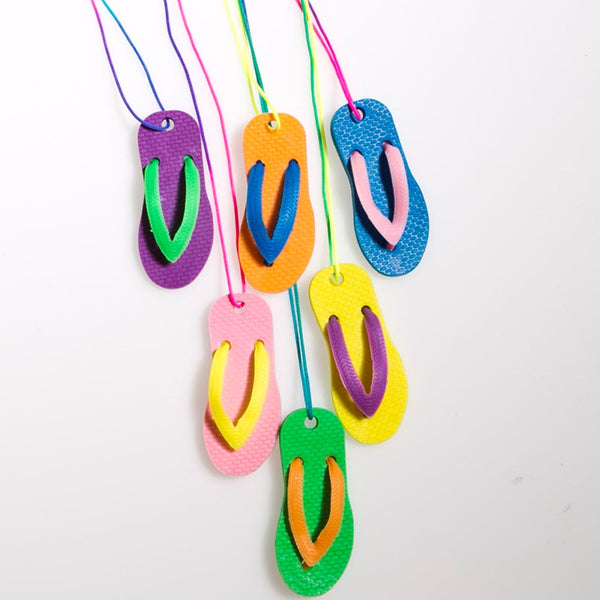 Flip Flop Necklaces
