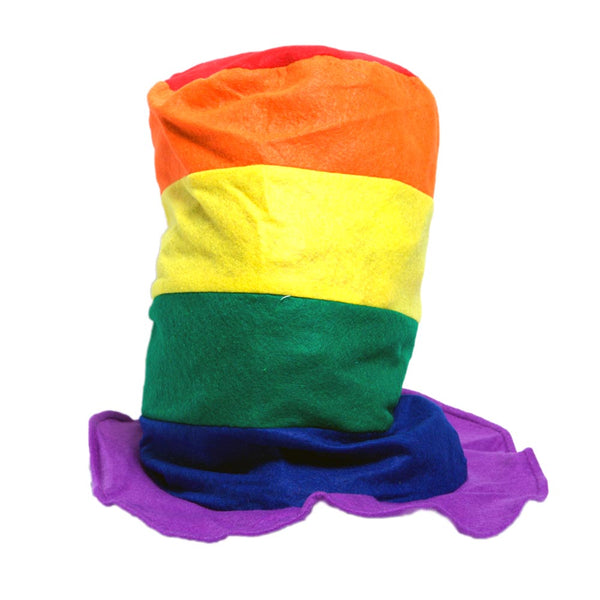 Rainbow Stovepipe Hat