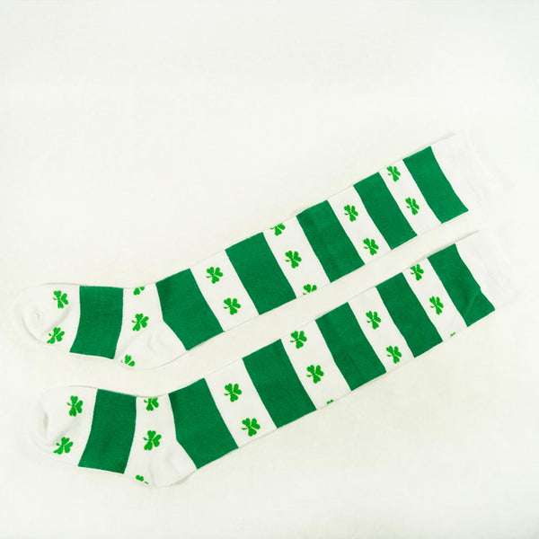 Shamrock Knee Socks