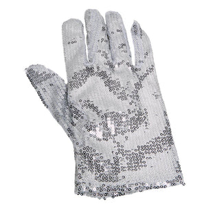 Silver Sequin Right Hand Glove
