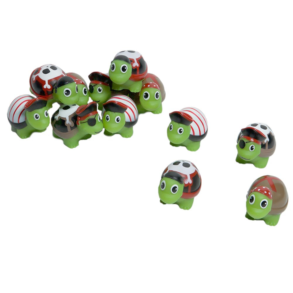 Rubber Pirate Turtles