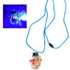 Flashing Snowman Necklace