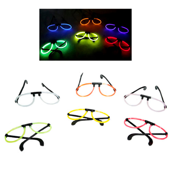 Assorted Glow Eye Glasses