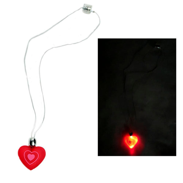 Flashing Heart Necklace