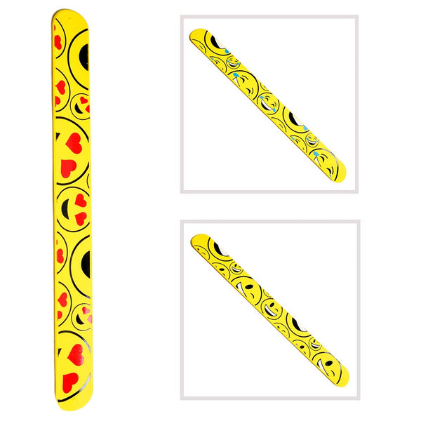 Emoticon Slap Bracelet