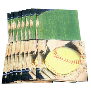 Fastpitch Softball Lunch Napkins