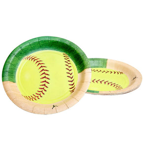 "Fastpitch Softball 7"" Plates"