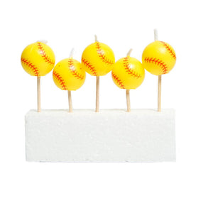 Fastpitch Softball Pick Candles