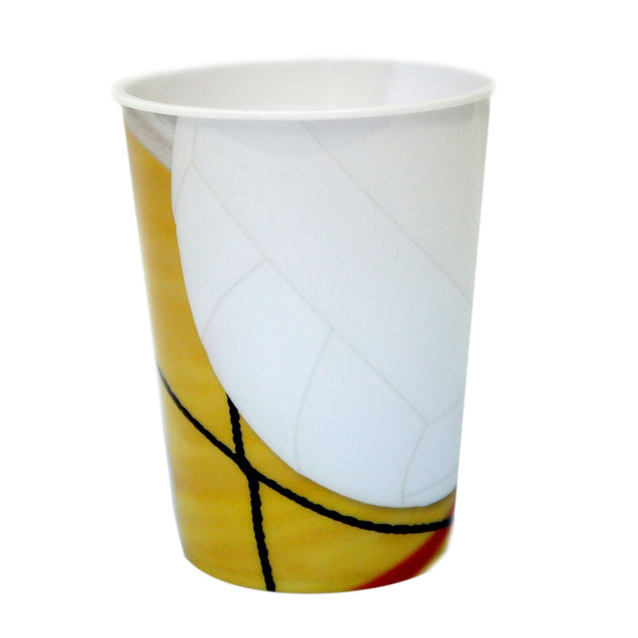 Volleyball 16 oz Plastic Cup