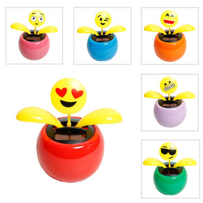 Solar Emoticon Toy