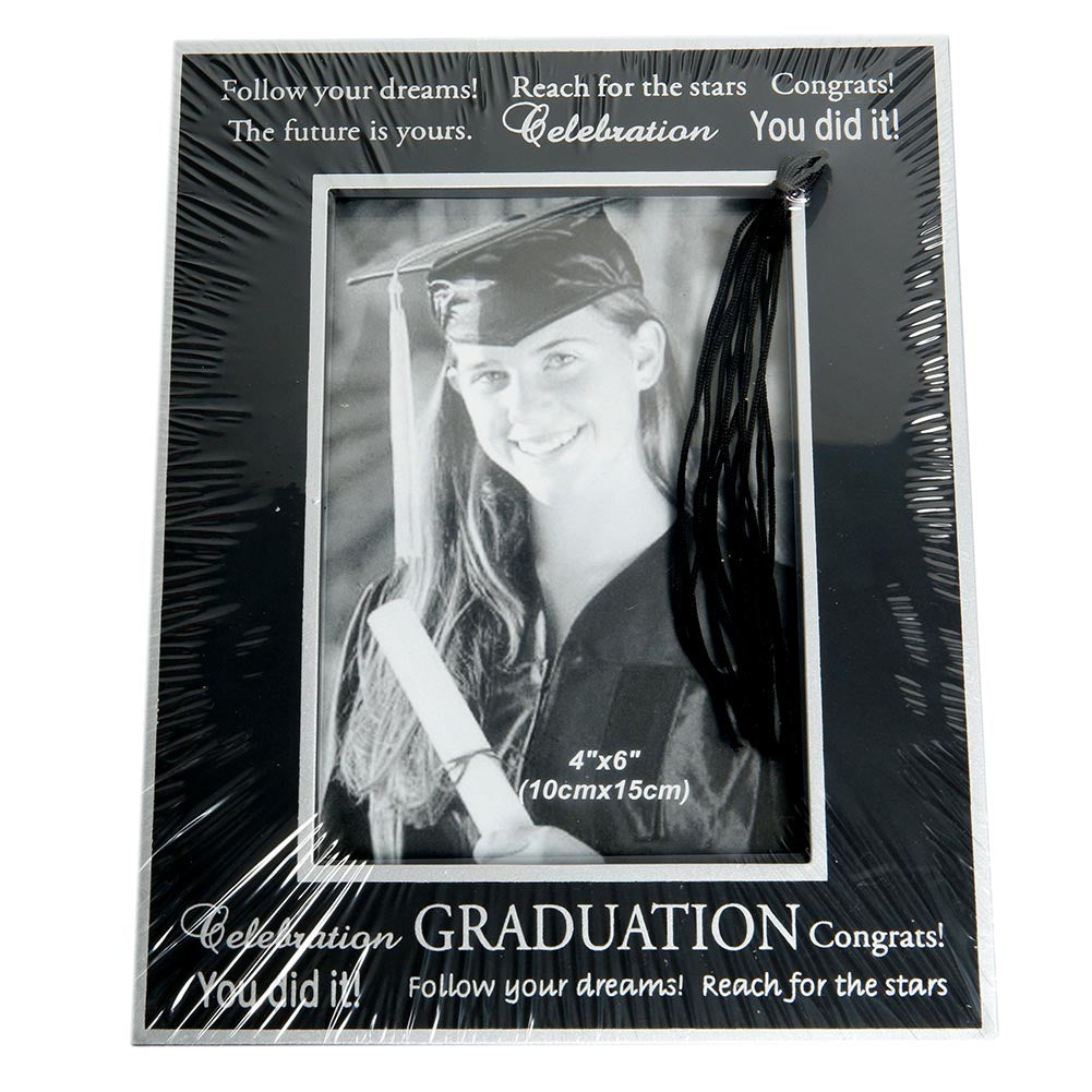 Inspirational Graduation Tassel Picture Frame