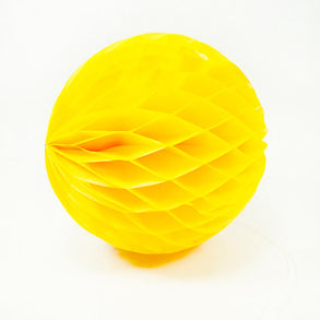 "Yellow 8"" Tissue Ball"