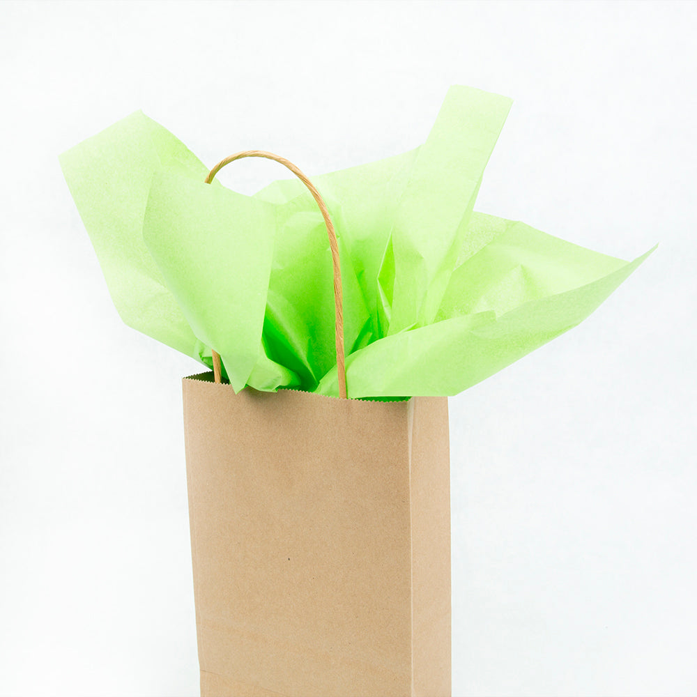 Lime Green Tissue Sheets