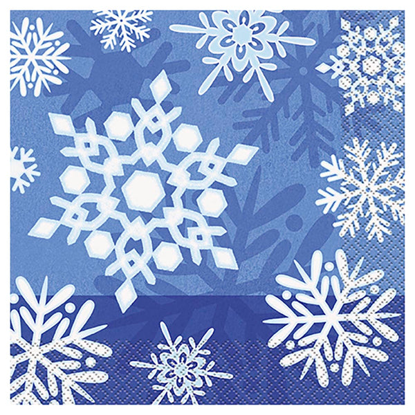 Winter Snowflake Lunch Napkins