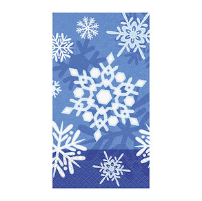 Winter Snowflake Guest Napkins