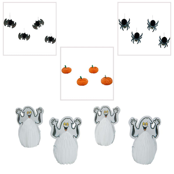 Mini Halloween Tissue Decorations