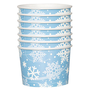 Snowflake Snack Bowls
