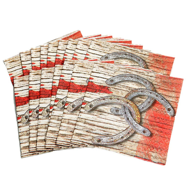 Rodeo Western Beverage Napkins