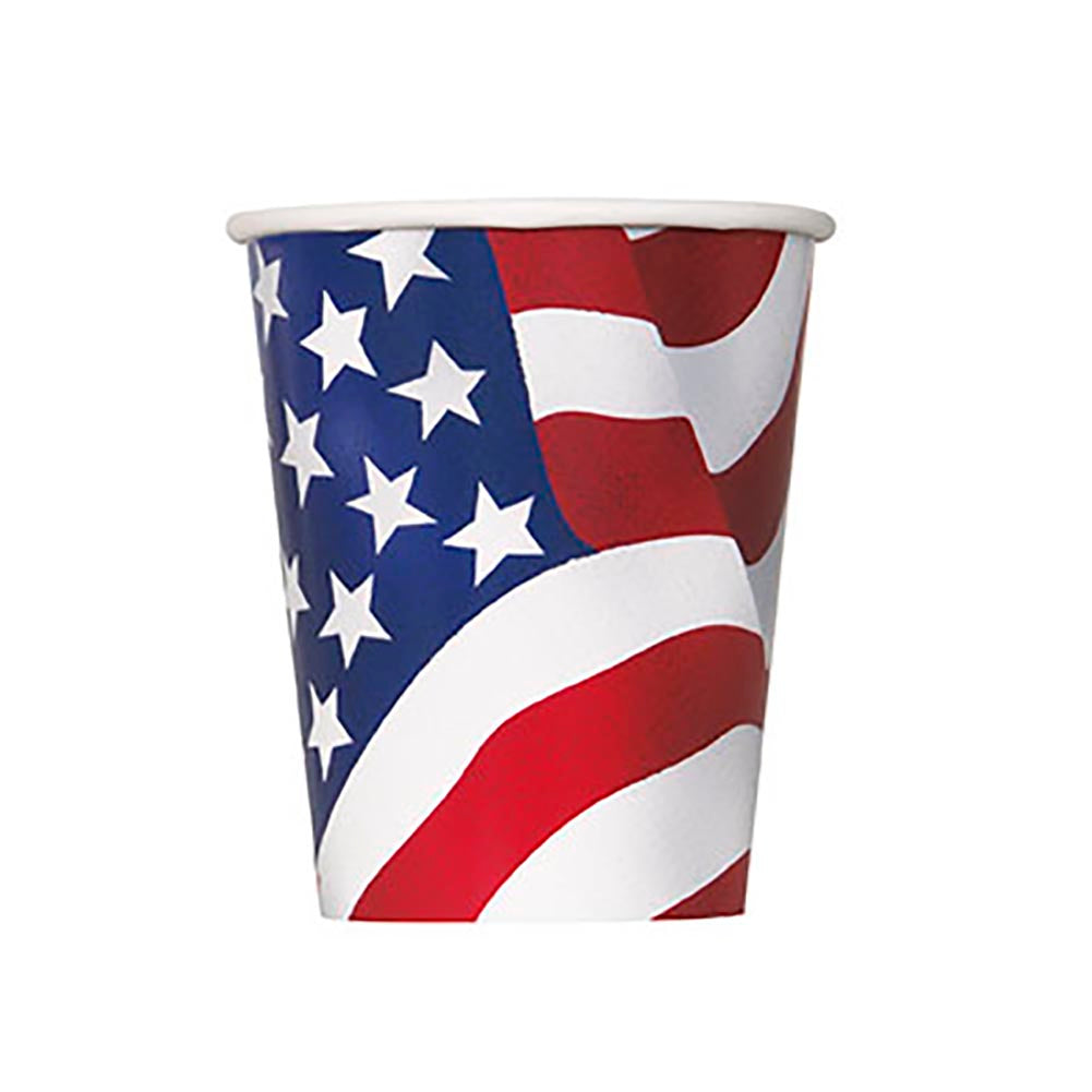 USA Flag Cups